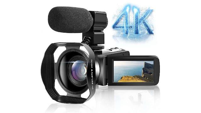LINNSE Video Camera Camcorder