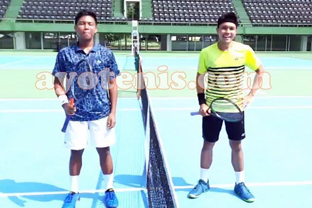 Tole Menangi Duel Antar Sesama Anggota Davis Cup. Gugun Petik Pelajaran Berharga