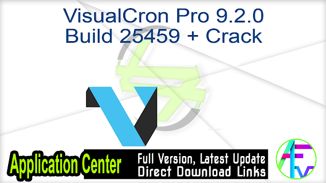 VisualCron Pro 9.2.0 Build 25459 + Crack