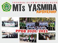 Desain Banner PPDB MTs Yasmida Ambarawa