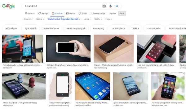 Cara Download Gambar Dari Google Yang Bisa di Pakai Ulang