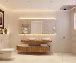ديكورات حمامات حديثة جميلة
