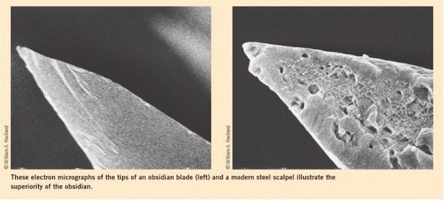 Obsidian - thủy tinh núi lửa so với kim loại