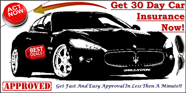 Cheap 30 Day Car Insurance Month To Month Payment