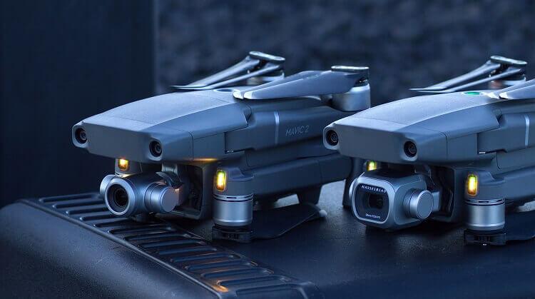 DJI Outs Mavic 2 Pro and Mavic 2 Zoom Drones