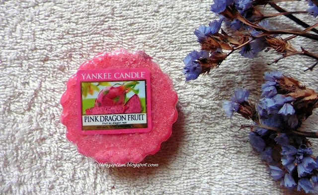 yankee candle wosk, pink dragon fruit, wosk dragon fruit, jak smakuje