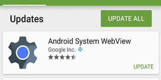 android webview güncelleme