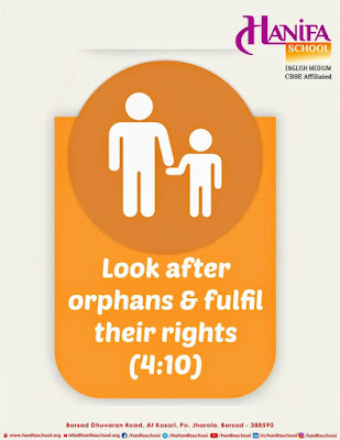 Look after orphans & fulfil their rights Quran 4-10 by Ummat-e-Nabi.com