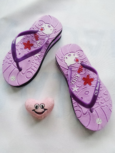 Sandal HK Spon Tebal Anak - Sandal Online Termurah
