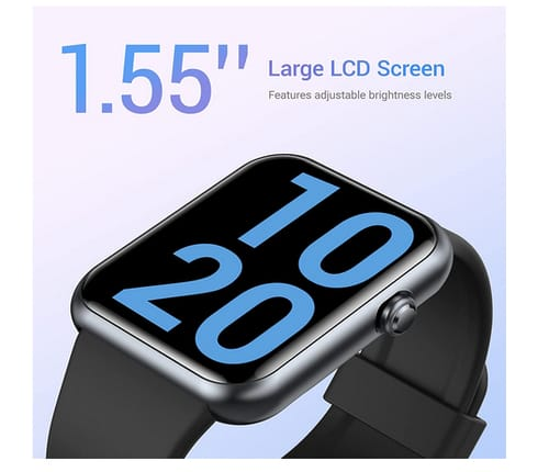 Letsfit IW2 1.55 Inch LCD Color Screen Smartwatch