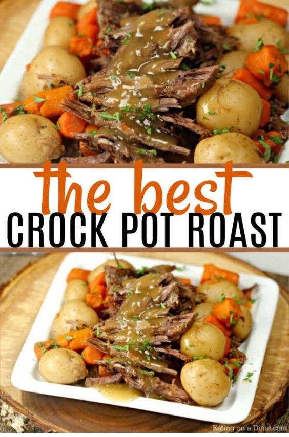 The Best Crock Pot Roast Recipe