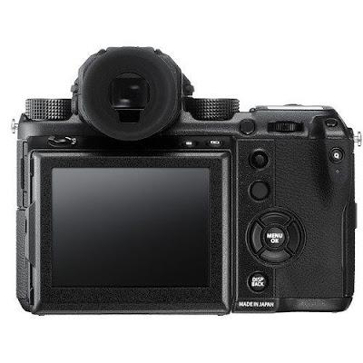 Fujifilm GFX 50Sミラーレスデジタルカメラファームウェアダウンロード