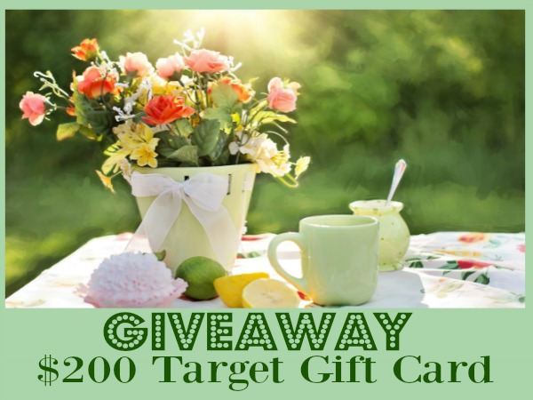 200 Target Gift Card Summer Giveaway featured on Walking on Sunshine.