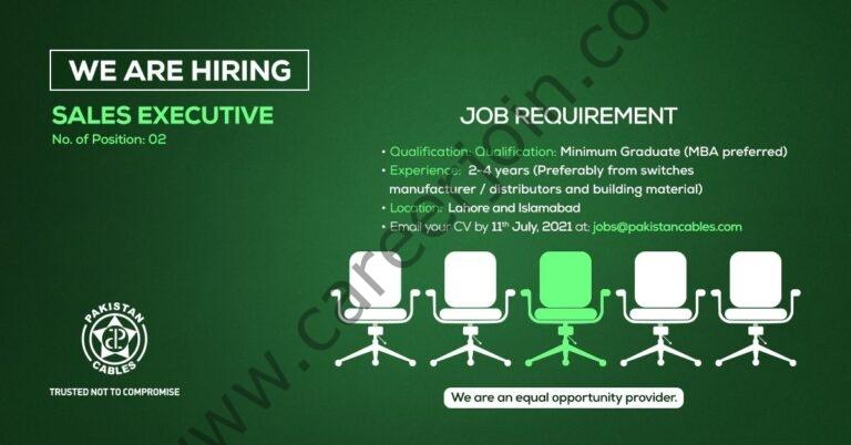 jobs@pakistancables.com - Pakistan Cables Ltd Jobs 2021 in Pakistan