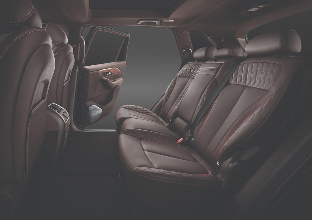 Bọc ghế ô tô bằng chất liệu da Nappa