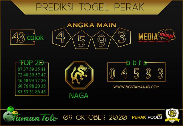 Prediksi Togel PERAK TAMAN TOTO 09 OKTOBER 2020