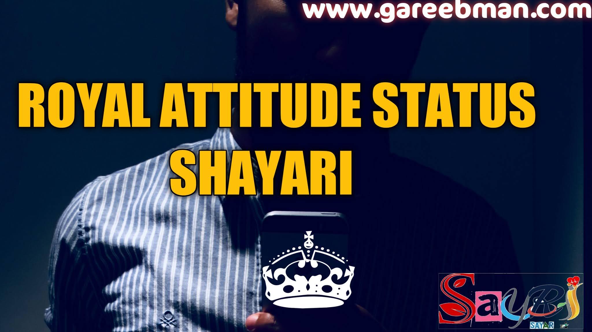 Royal attitude status image hd