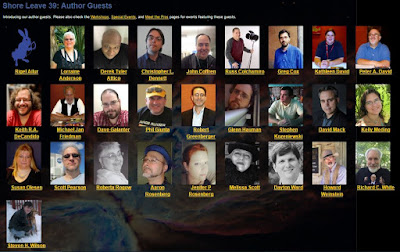 Image of Shore Leave 39 author guests from the Shore Leave web site