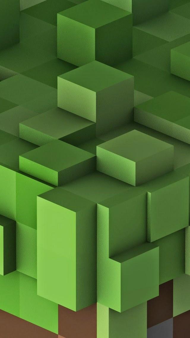 Querías Wallpapers De Minecraft Para Iphone Ten Un Geek