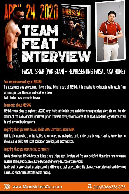 MISSING I Team Feat I Faisal Israr Talks About MISSING