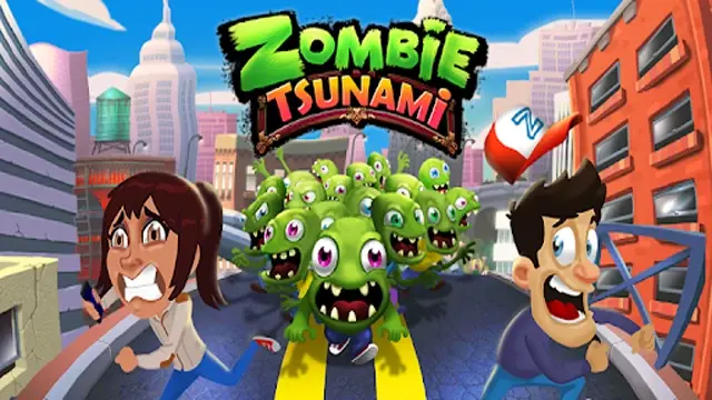 تحميل لعبة zombie tsunami مهكرة