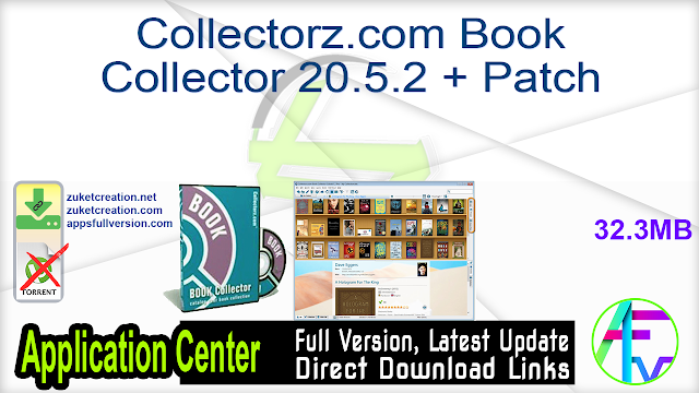 Collectorz.com Book Collector 20.5.2 + Patch