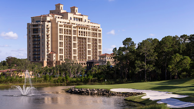The luxury hotel on property at Walt Disney World.
