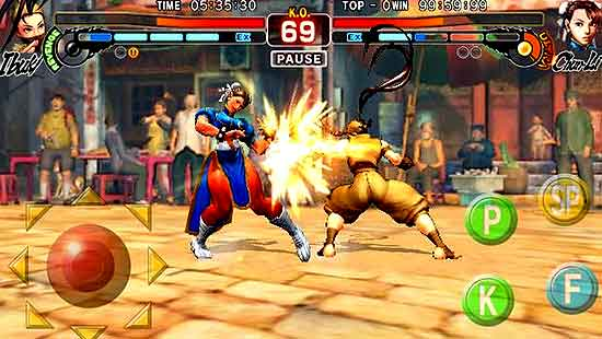 Street Fighter 4 Apk Android