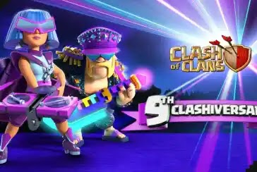 Clash of Clans,9 Clashiversary,