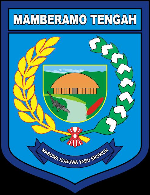 Logo Kabupaten Mamberamo Tengah, Papua Vector