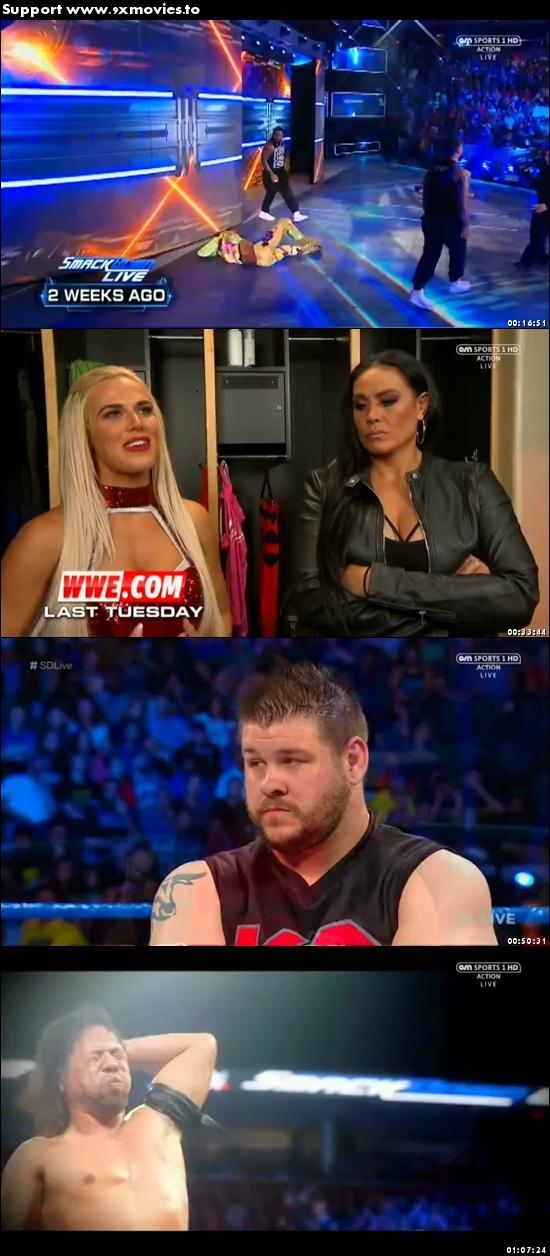 WWE Smackdown Live 08 Aug 2017 HDTV 480p 300MB