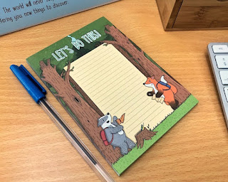 Lily in Space - Let's Do This Woodland Animals Notepad