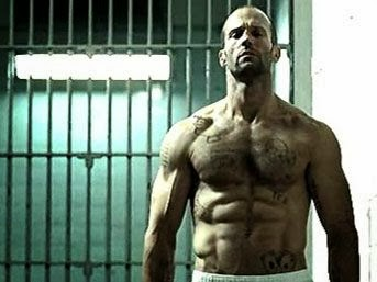 Jason Statham, Transporter 3, Expendables, Jason Statham shirt off