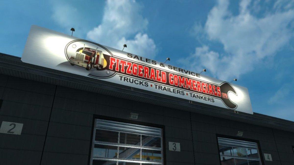 Garage - Fitzgerald Commercials ltd