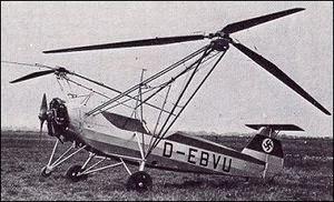 Henrich Focke - Fock Wulf FW-61