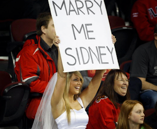 Wedding Request: Marry Me Sidney