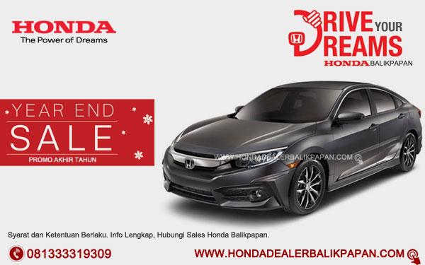 Promo Akhir Tahun Honda Civic Balikpapan