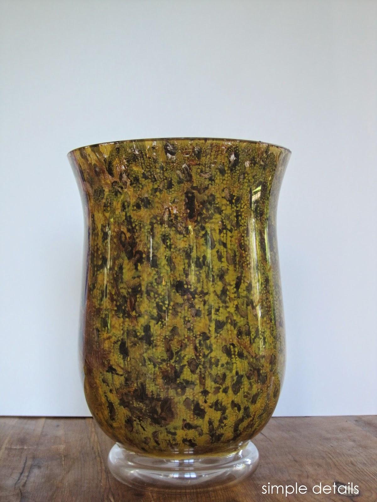 Simple Details Diy Tortoise Shell Vase