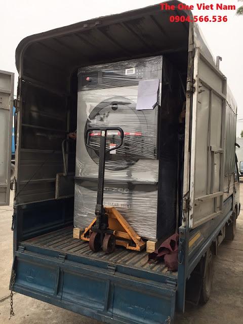 Lắp đặt máy giặt công nghiệp cho khách sạn ở Sài Gòn