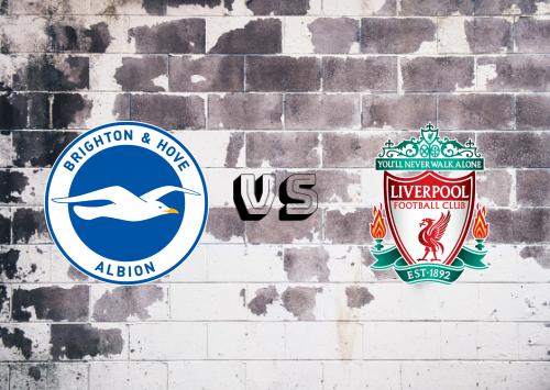 Brighton & Hove Albion vs Liverpool  Resumen y Partido Completo