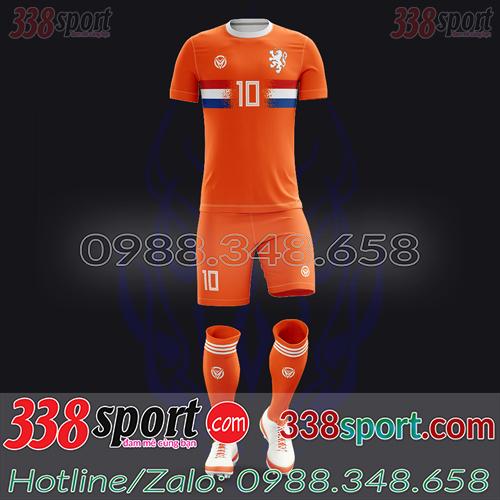 Áo Đội Tuyển Hà Lan Đặt May Theo Yêu Cầu - Mã HALAN 04