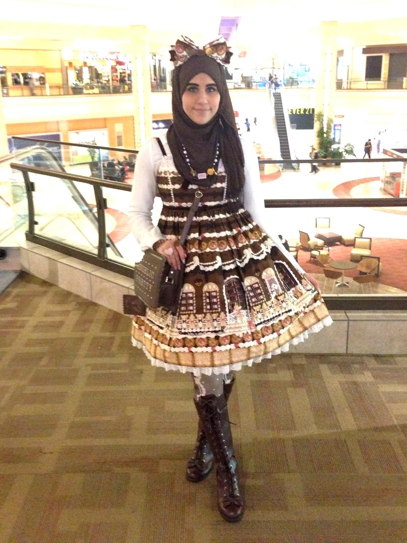 ازياء محجبات مستوحاة الموضة اليابانية tumblr_nhp40nRDKx1qi