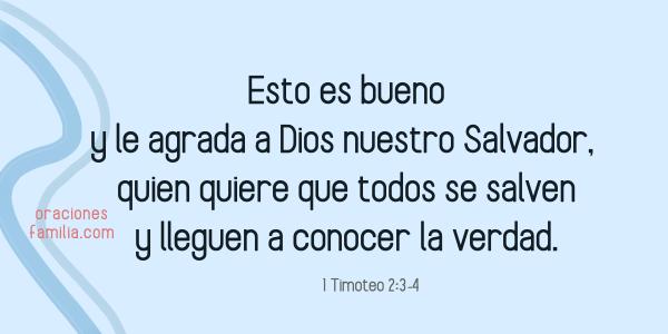 versiculo cita biblica salvacion de la vida de mi hijo 1 timoteo 2