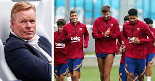 Barcelona head coach Koeman to use 2 different teams in preseason match vs Gimnastic