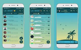 Coconut Trees Theme For YOWhatsApp & Fouad WhatsApp By Leidiane