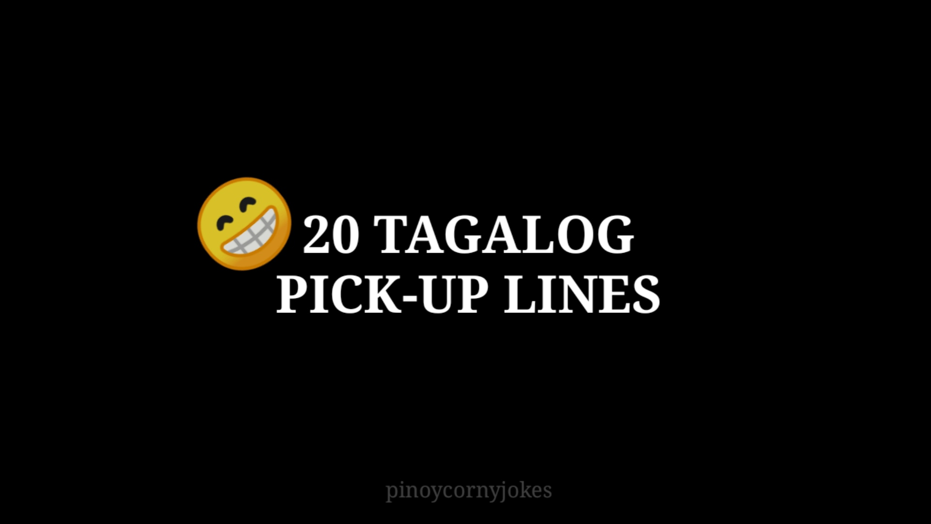 ⭐️ best local hook up lines funny tagalog 2019