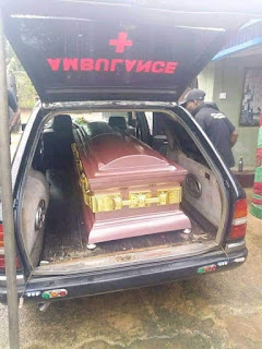 Pictures From The Burial Of Iniubong Umoren