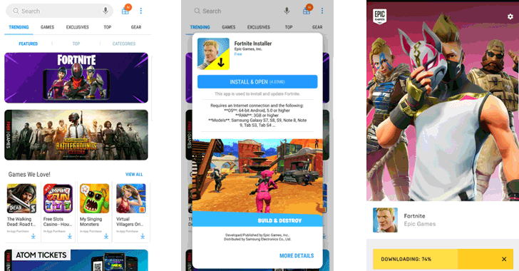 Critical Flaw in Fortnite Android App Lets Hackers Install