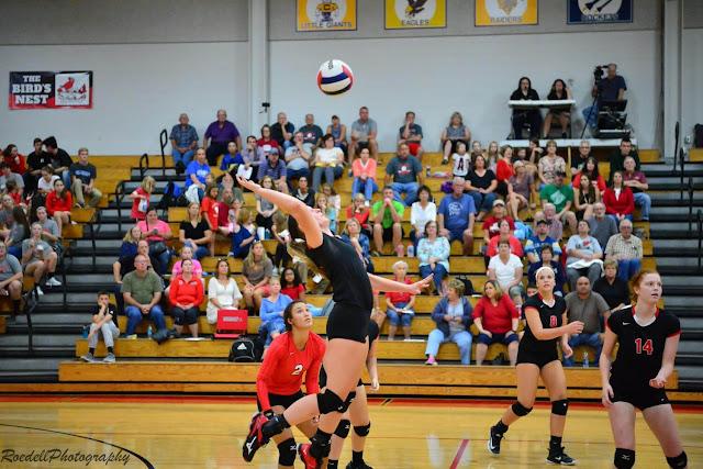 MTHS Vs. Canton Volleyball September 12, 2017, Metamra Herald