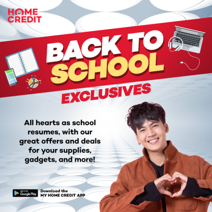 Back to School Home Credit poster